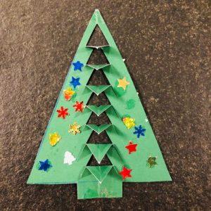 Weihnachtsbaum bastel