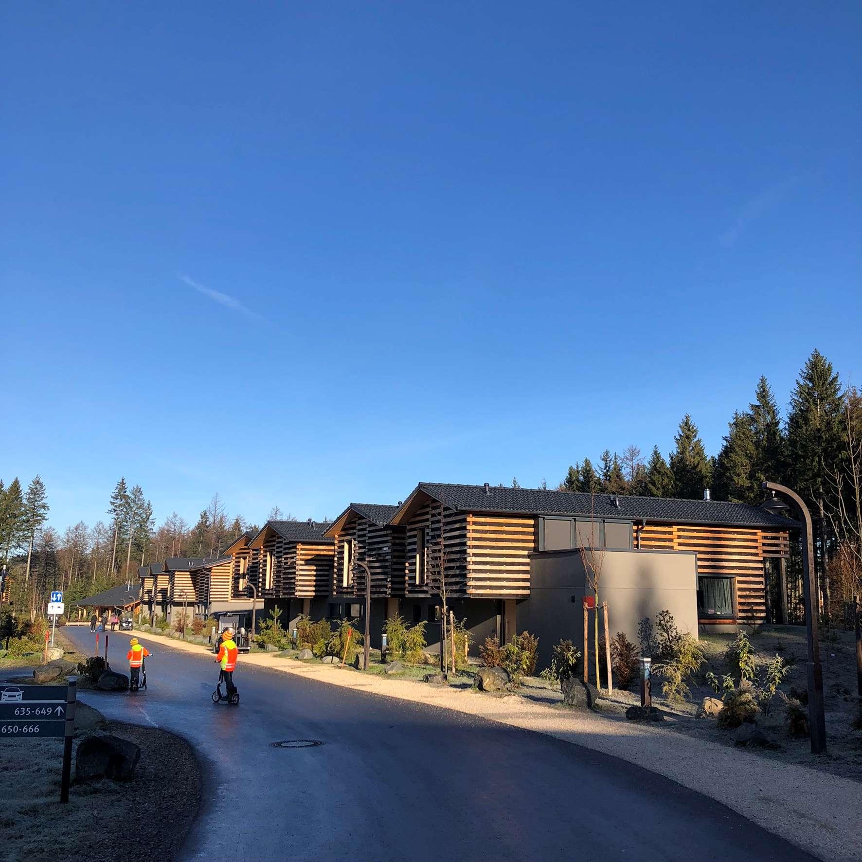 Ferienhäuser im Center Parc Allgäu