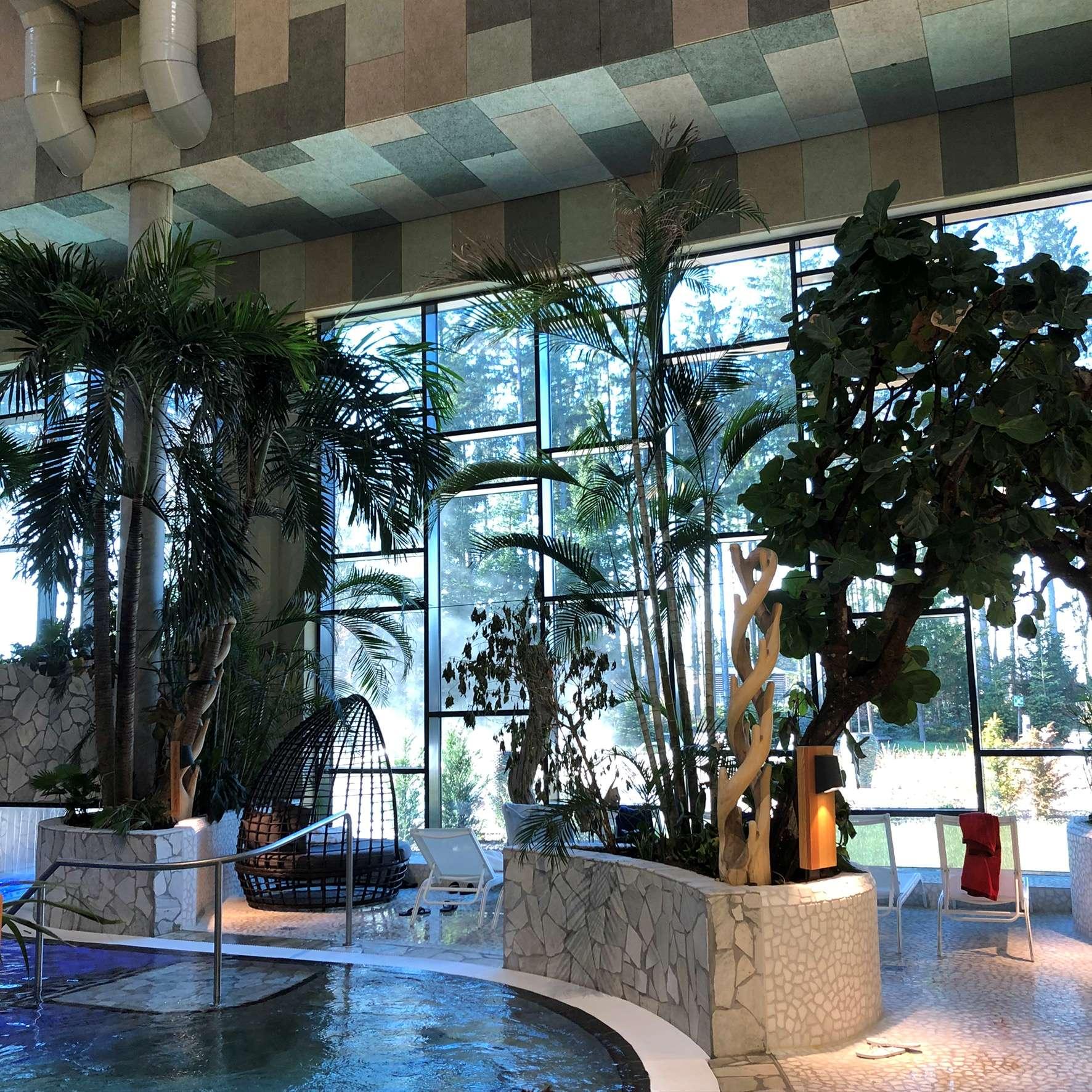 Indoorpool im Spa
