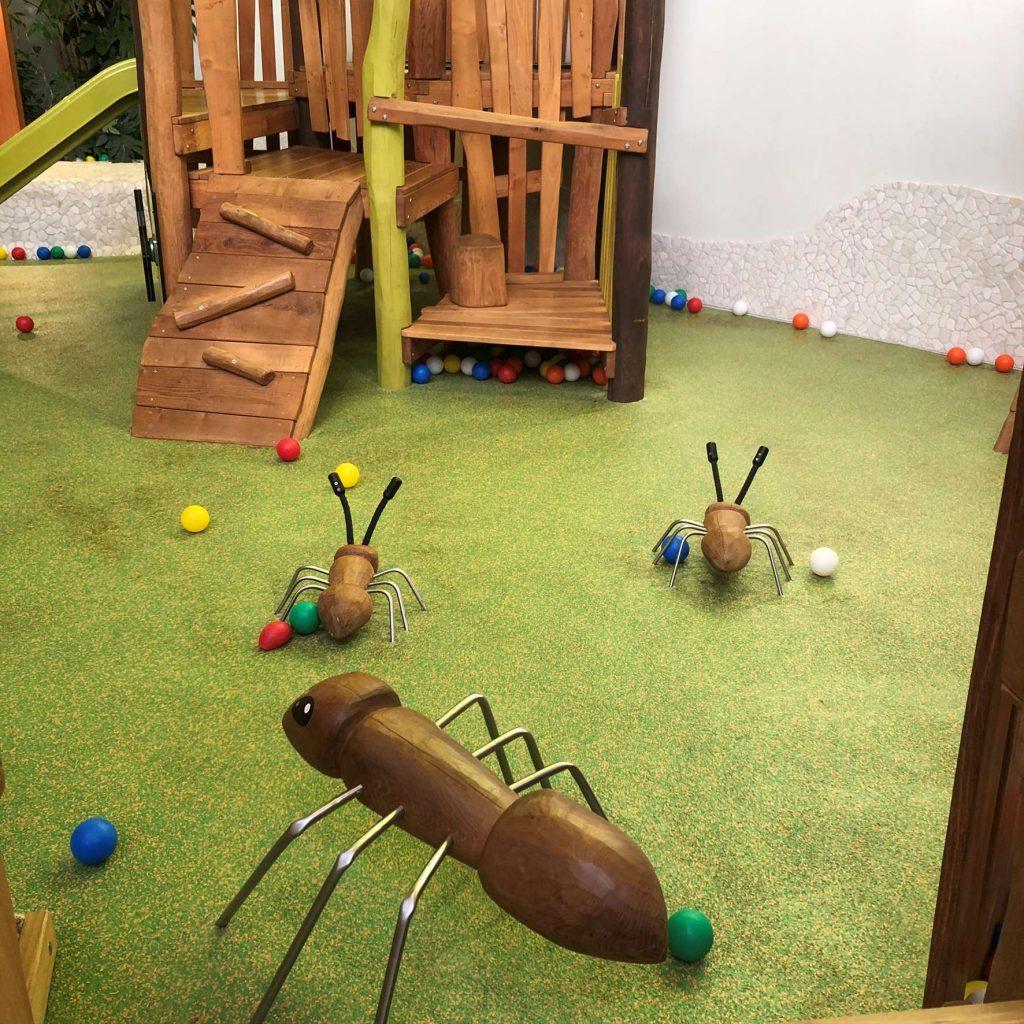 Baluba Indoorspielplatz im Center Parc Allgäu